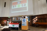 The ceremony of Al- Ahwaz day held at the Hamburg University